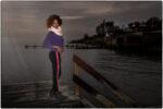 Adama at the ocean